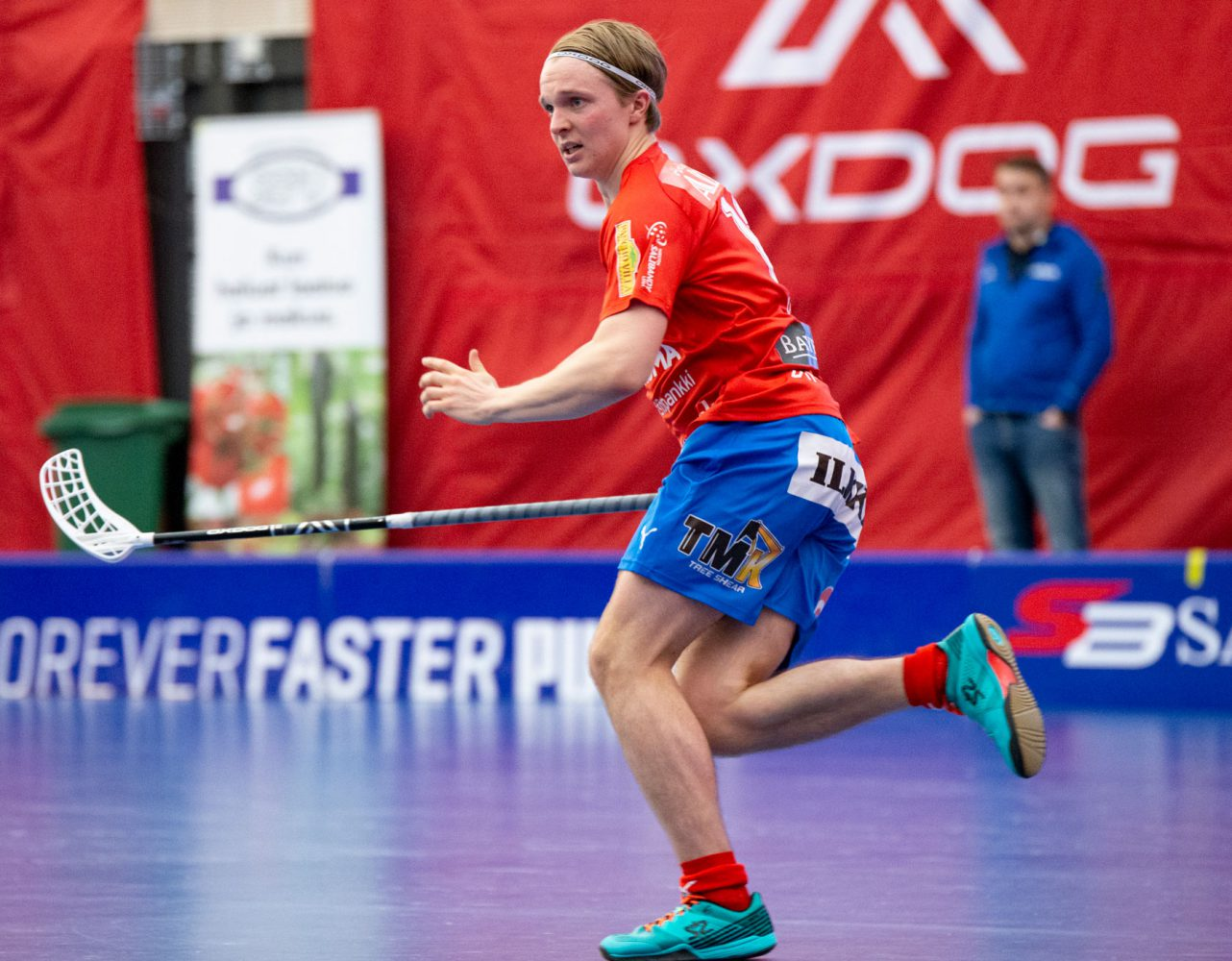 SPV:n Janne Autio pelasi vahvan ottelun ja palkittiin kotijoukkueen parhaana pelaajana.