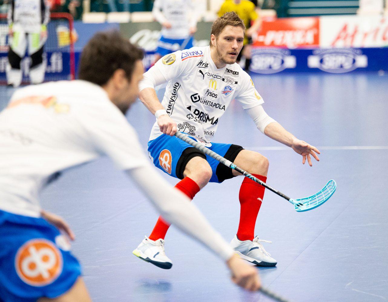 Henri Myllymäki vastasi tänään SPV:n ainoasta osumasta.